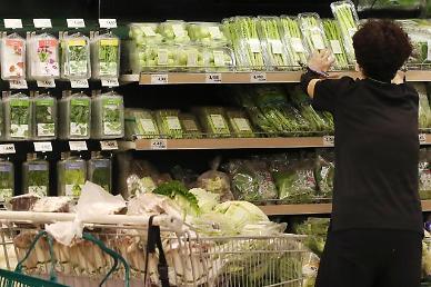 8월 소비자물가 0.7% 상승… 5개월 만에 최대 상승폭 기록