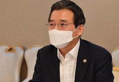 김용범 기재차관 재난지원금, 소상공인·자영업자는 매출 기준 검토