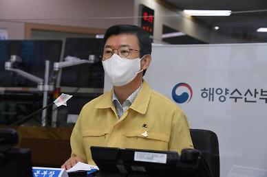 문성혁 해수부 장관, 태풍 피해 큰 가거도항 찾아 속도있게 복구