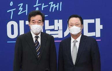 """[공정3법 후폭풍] 박용만, 이낙연·김종인 만나 """"기업 옥죄는 법안 자꾸 늘어나"""""""