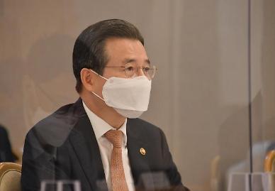 김용범 기재차관 4차 추경 추석 전 최대한 집행… 택시기사 지원 10월 말부터