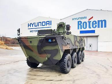 현대로템, 차륜형장갑차 3차 양산 사업 수주... 4000억 규모
