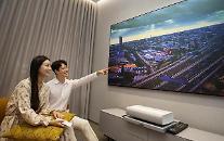 삼성·LG·소니, 신규 프로젝터 공개…안방 극장 공략