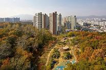 거실에서 단풍놀이 e편한세상 신곡포레스타뷰 전경 공개