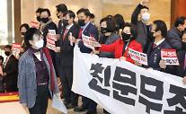 국민의힘, 공수처법 등 5개 법안 필리버스터…김기현 첫 주자