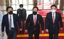 """국민의힘, 주호영 원내대표 재신임…""""與독주, 누구든 못 막아"""""""