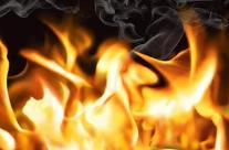 부천 공원 주차장에서 화재…인명피해 없어