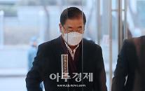 [포토] 정의용 외교부 장관 후보자 출근