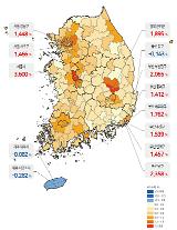 작년 4분기 전국 땅값, 0.96% 상승…세종은 3.6% 급등