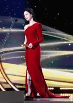 [포토] 이유비, 돋보이는 레드 드레스