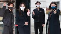 [슬라이드 화보] 지수-김소현-이지훈-최유화, 달이 뜨는 강 주역들의 출근길