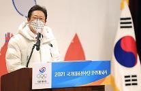 황희 문체부 장관, 국가대표 선수단 격려…여러분은 영원한 국가대표