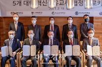 한국외대, 경희·고려·성균관·한양대와 혁신공유교류 협정