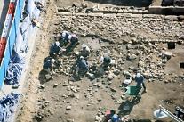 [포토] 정부서울청사 앞 광화문광장 유물 발굴 조사
