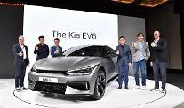 [EV6 월드프리미어] 송호성 사장 내년 글로벌서 10만대 판매…전기차 최고 기업으로 도약