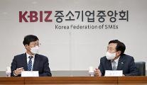 """중소기업계 찾은 이호승 정책실장...""""중소기업 기 살리겠다"""""""