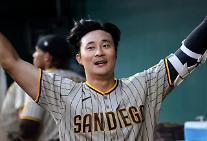 샌디에이고 파드리스 김하성, MLB서 첫 홈런