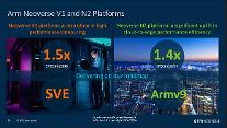 ARM, 반도체 IP 플랫폼 네오버스 V1 공개…기존 대비 50% 성능↑