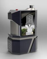 LG유플러스 5G 로봇, 5.18기념센터에서 방역관리한다