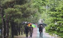 [내일 날씨] 수도권 곳곳서 비…서울 아침 12도, 낮 24도 예상