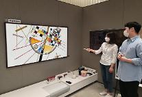 '삼성 더 프레임'으로 몬드리안·칸딘스키 작품을 안방서 본다