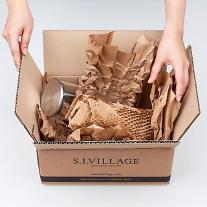 신세계인터, 배송 포장재 종이로 바꾼다