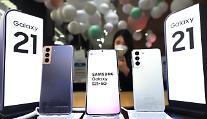 삼성, 갤럭시S21 효과로 국내 시장 점유율 1위... 아이폰 추격 방심 못해