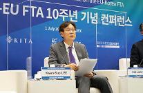 한-EU FTA 10년, 일본 제치고 EU시장 선점...상품무역 연평균 1.9% 성장