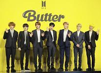 버터 빌보드 신기록의 힘…남자가수 평판 1위 방탄소년단 독보적