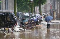 100년 만의 기록적 폭우, 독일·벨기에 120여명 사망