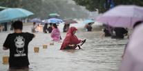 [중국 각市각색]물바다로 변한 아이폰 도시 정저우