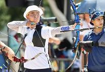 [도쿄올림픽 2020] 막내들의 새 역사 '정조준'...김제덕·안산, 예선 1위로 3관왕 도전