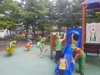 서울시 25개구 자율방재단 코로나·폭염 취약시설 일제 방역