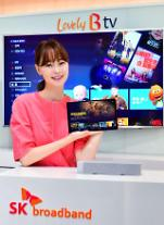 "SK브로드밴드, 'B tv air' 출시...""태블릿 속에 IPTV 담았다"""