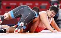 [도쿄올림픽 2020] 김민석, 레슬링 그레코로만형 남자 130㎏급 16강서 패