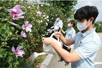 LG상록재단, 전국 초·중·고교에 '무궁화' 5000그루 무상 보급