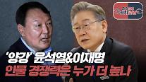 [아주 리플레이] 2050정치맞짱 Live '양강' 윤석열-이재명, 인물 경쟁력은?