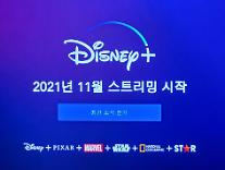 디즈니플러스 11월 한국 상륙 미디어시장 지각변동