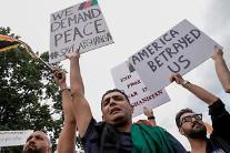 성조기가 내려왔다…미국 빠지는 아프간 공포 속 혼란