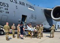 아프간 탈출 임신부, 비행기 착륙하자마자 화물칸서 출산