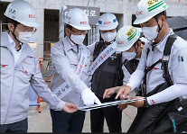 HDC현대산업개발, 경영진과 협력사 건설현장 안전점검