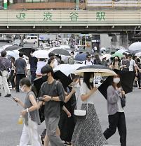 일본, 26일간 코로나 확진자 50만명... 누적 150만명 돌파