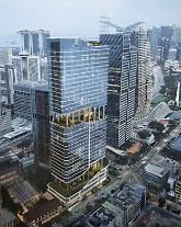 현대건설, 2400억원 규모 싱가포르 쇼 타워 재개발 수주