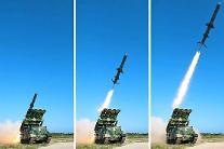 北, 中왕이 방한 중 동해상으로 탄도미사일 2발 발사