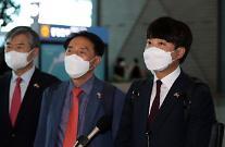 """이준석 방미 """"文정부 대북정책 오류, 상당히 폐기해야"""""""