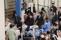 [포토] 방탄소년단, UN 총회 마치고 금의환향
