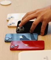 반도체 부족해서...애플, 올해 아이폰13 생산량 1000만대 감축
