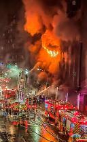 46명 목숨 앗아간 대만 화재 참사… 원인은 '모기향'
