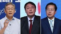 [이주의 여론조사] 정체된 이재명, 윤석열‧홍준표와 오차범위 내 접전