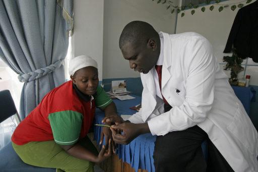 .[영문] America abortion debate reaches into African slums.